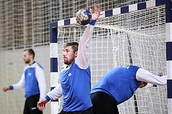 Urban Lesjak at practice session of handball team Slovenia before the match against Germany, on May 01, 2017 in Vojasnica Edvarda Peperka, Ljubljana, Slovenia. Photo by Matic Klansek Velej / Sportida