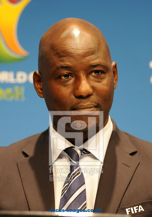 Anthony Baffoe, FIFA general coordinator at the Maracana stadium  during FIFA Daily Press Conference at Maracana Stadium, Rio de Janeiro<br /> Picture by Stefano Gnech/Focus Images Ltd +39 333 1641678<br /> 12/07/2014