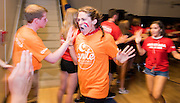 The Class of 2020 takes part in Welcome Night festivities. (Photo by Edward Bell)