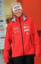 Vesna Fabjan at nordic press conference before new season 2008/2009, on November 5, 2008, Ljubljana, Slovenia. (Photo by Vid Ponikvar / Sportida)..