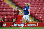 Everton women forward Elise Hughes (9) during the FA Women's Super League match between Liverpool Women and Everton Women at Anfield, Liverpool, England on 17 November 2019.