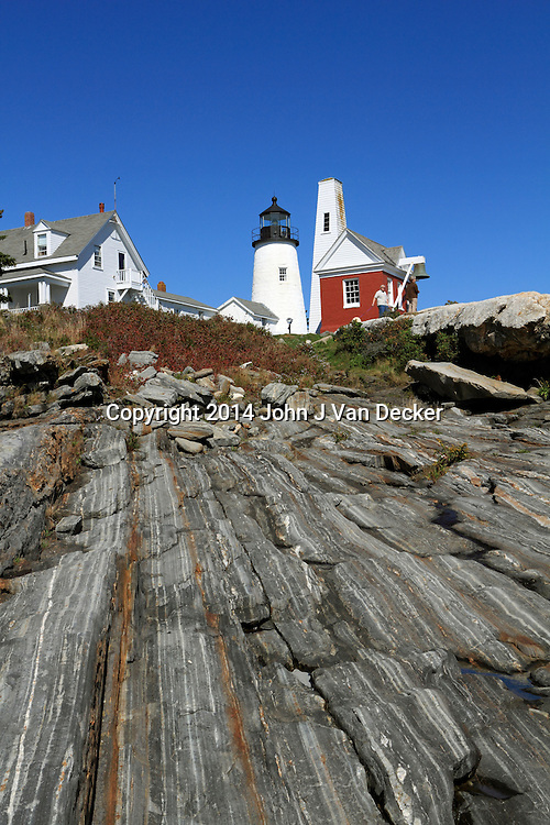 Pemaquid Lighthouse, Bristol, Maine, USA