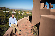 Former Merrill Lynch executive James A. Brown poses on the patio of his Santa Fe New Mexico home on October 15, 2010...Credit: Steven St. John for The Wall Street Journal.ENRON