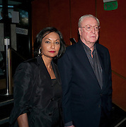 SHAKIRA CAINE; MICHAEL CAINE, Is Anybody /there film premiere. Curzon Mayfair. London. 29 April 2009