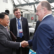 20160615 - Brussels , Belgium - 2016 June 15th - European Development Days - Bilateral Meeting <br /> LI Yong, Director General United Nations Industrial Development Organization and Romain Schneider<br /> Minister for Development Cooperation and Humanitarian Affairs Ministry of Foreign Affairs - Luxembourg<br /> &copy; European Union