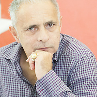 Hanif Kureishi, English playwright, screenwriter and filmmaker and novelist<br /> 20 September 2014<br /> Photograph by Leonardo Cendamo/Writer Pictures<br /> <br /> UK EXCLUSIVE, WORLD RIGHTS, NO ITALY, <br /> NO AGENCY - DIRECT SALES ONLY