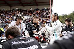 September 1, 2019, Spa-Francorchamps, Belgium: Motorsports: FIA Formula One World Championship 2019, Grand Prix of Belgium, ..#44 Lewis Hamilton (GBR, Mercedes AMG Petronas Motorsport) (Credit Image: © Hoch Zwei via ZUMA Wire)
