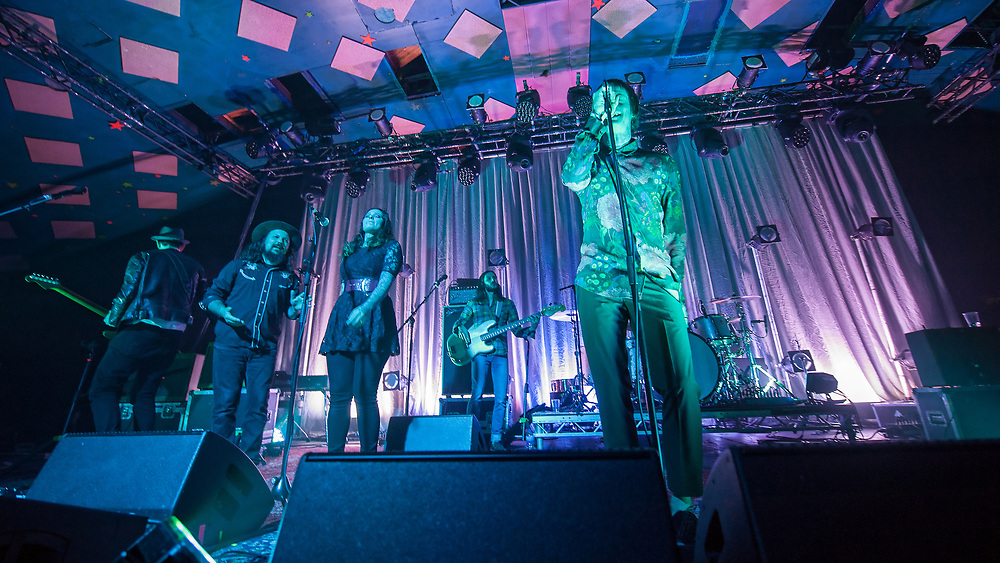 The Temperance Movement in concert at The Barrowland Ballroom, Glasgow, Great Britain 3rd March 2018