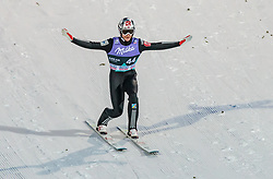 13.03.2018, Lysgards Schanze, Lillehammer, NOR, FIS Weltcup Ski Sprung, Raw Air, Lillehammer, im Bild Robert Johansson (NOR) // Robert Johansson of Norway during the 2nd Stage of the Raw Air Series of FIS Ski Jumping World Cup at the Lysgards Schanze in Lillehammer, Norway on 2018/03/13. EXPA Pictures © 2018, PhotoCredit: EXPA/ JFK