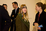 PHILIPPA HORAN; MAGGIE SMITH, Rebecca Warren exhibition opening at the Serpentine Gallery. London.  9 March  2009 *** Local Caption *** -DO NOT ARCHIVE -Copyright Photograph by Dafydd Jones. 248 Clapham Rd. London SW9 0PZ. Tel 0207 820 0771. www.dafjones.com<br /> PHILIPPA HORAN; MAGGIE SMITH, Rebecca Warren exhibition opening at the Serpentine Gallery. London.  9 March  2009