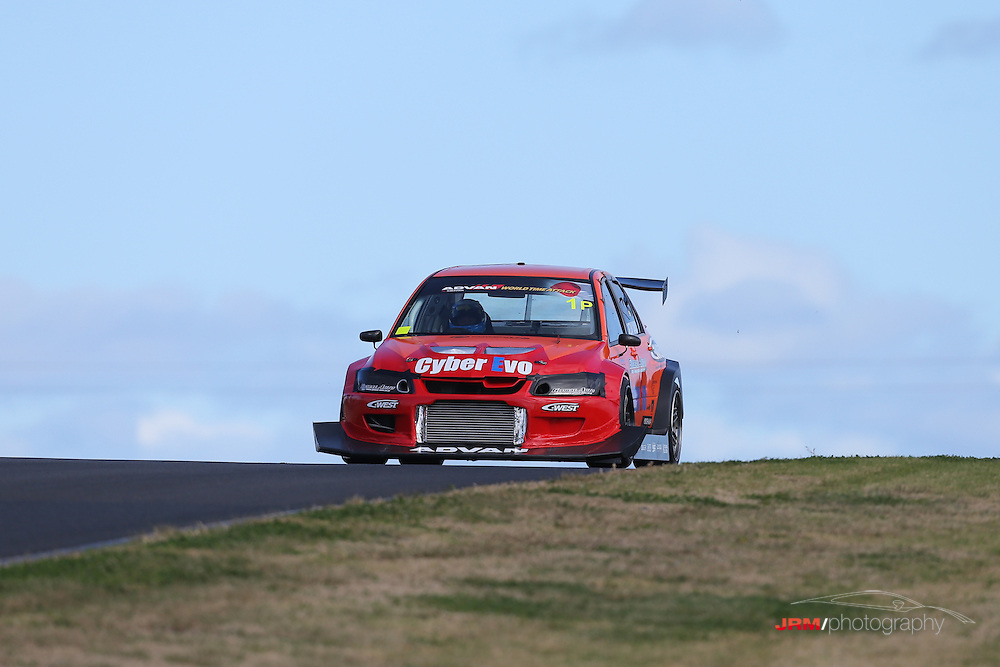 """Last years winner, Eiji """"Tarzan"""" Yamada in the Cyber evo only arrived at the track late on friday afternoon, and with engine issues in the afternoon.-World Time Attack 2012-August 9th and 10th 2012, Sydney Motorsport Park, Sydney, Australia,"""