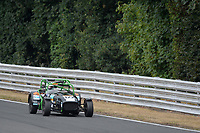 #122 Simon GRIFFITHS Caterham  during Toyo Tires 7 Race Series  as part of the MSVR MINI Festival at Oulton Park, Little Budworth, Cheshire, United Kingdom. July 21 2018. World Copyright Peter Taylor/PSP. Copy of publication required for printed pictures.