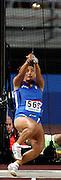 n/z.: Clarissa Claretti (nr565-Wlochy) podczas finalu w rzucie mlotem  kobiet podczas Mistrzostw Swiata w lekkiej atletyce w Osace w Japonii. lekka atletyka , Japonia , Osaka , 30-08-2007 , fot.: Adam Nurkiewicz / Mediasport..Clarissa Claretti (nr565-Italia) throws during the final women's hammer throw event at the 11th IAAF World Athletics Championship at Nagai Stadium in Osaka, Japan. August 30, 2007.  ( Photo by Adam Nurkiewicz / Mediasport )