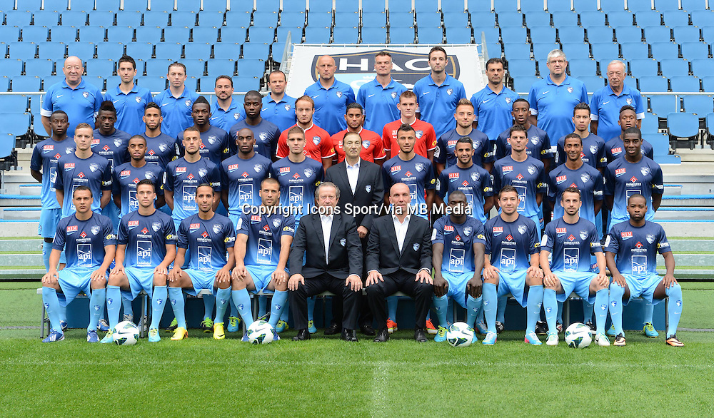 Photos Equipe - 04.10.2013 - Photo Officielle - Le Havre -<br /> Photo : Icon Sport