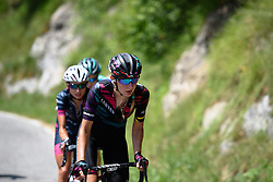 Alena Amialiusik (CANYON//SRAM Racing) approaches the top of the biggest climb of the day at Giro Rosa 2016 - Stage 6. A 118.6 km road race from Andora to Alassio, Italy on July 7th 2016.