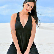 Photo shoot with Samira, White Sands New Mexico, Andres Acosta / Photos By Ace