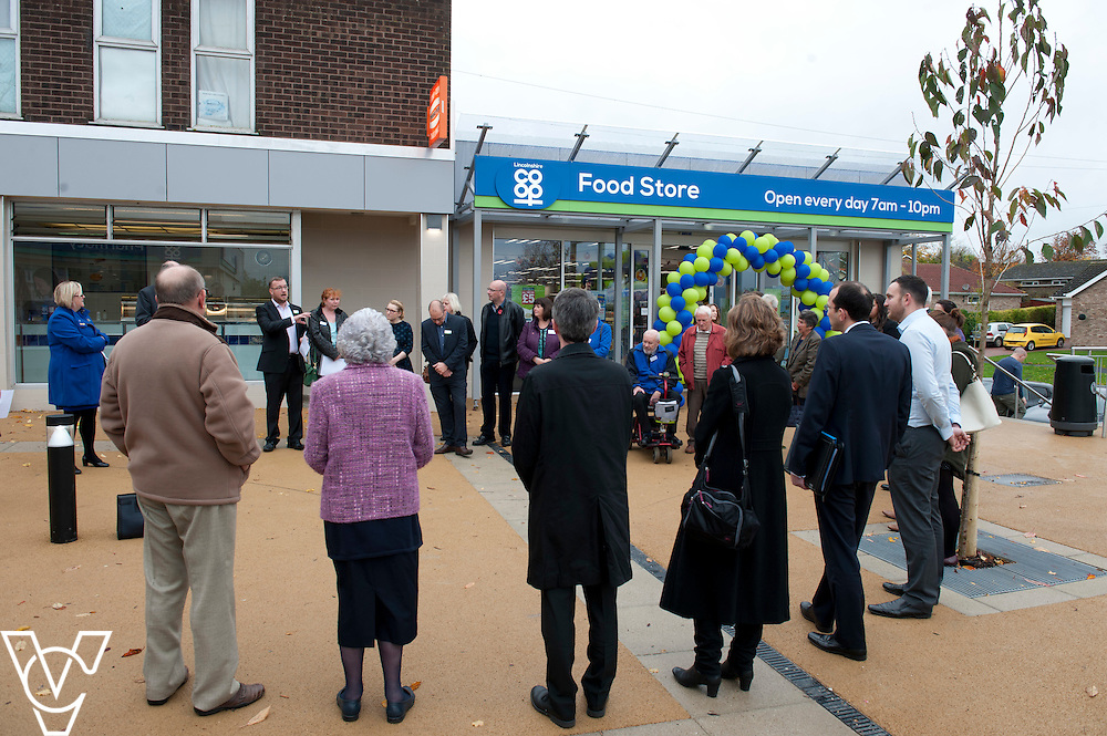 Pictured is the opening of the refurbished Washingborough precinct, including the Lincolnshire Co-operative food store<br /> <br /> Official re-opening of the refurbished Washingborough Food Store and precinct, which includes the Co-op Pharmacy.<br /> <br /> Date: October 30, 2015<br /> Picture: Chris Vaughan/Chris Vaughan Photography