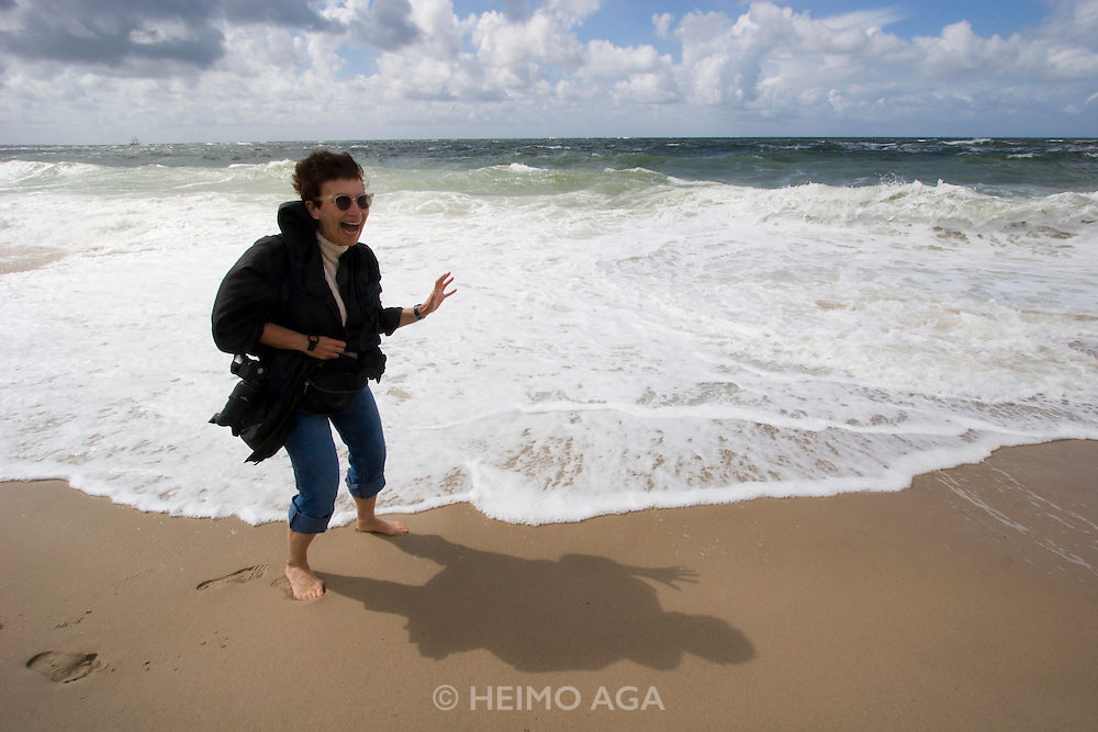 The wild North Sea at the Southern tip of Sylt, the Hörnum Odde. Nicole Schmidt.