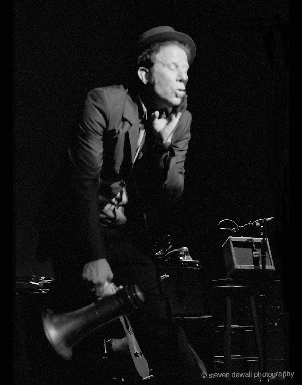 Tom Waits performing live at the Paramount in Seattle
