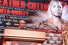 February 28, 2012: Floyd Mayweather vs Miguel Cotto Press Conference