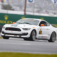 Daytona Beach, FL - Jan 28, 2016:  The Continental Tire Sports Car Challenge teams take to the track on Continental tires for a practice session for the BMW Performance 200 at Daytona International Speedway in Daytona Beach, FL.