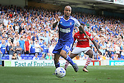 Ipswich Town forward David McGoldrick during the EFL Sky Bet Championship match between Ipswich Town and Barnsley at Portman Road, Ipswich, England on 6 August 2016. Photo by Nigel Cole.