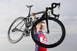 during official photographing of Cycling Team KK Adria Mobil for new season 2013, on February 19, 2013 in Strunjan, Slovenia. (Photo By Vid Ponikvar / Sportida)