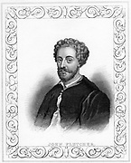 John Fletcher (1579-1625) English playwright, early 19th century.  Fletcher collaborated with Francis Beaumont on a number of plays and with Jonson, Chapman and Massinger. He died of plague.