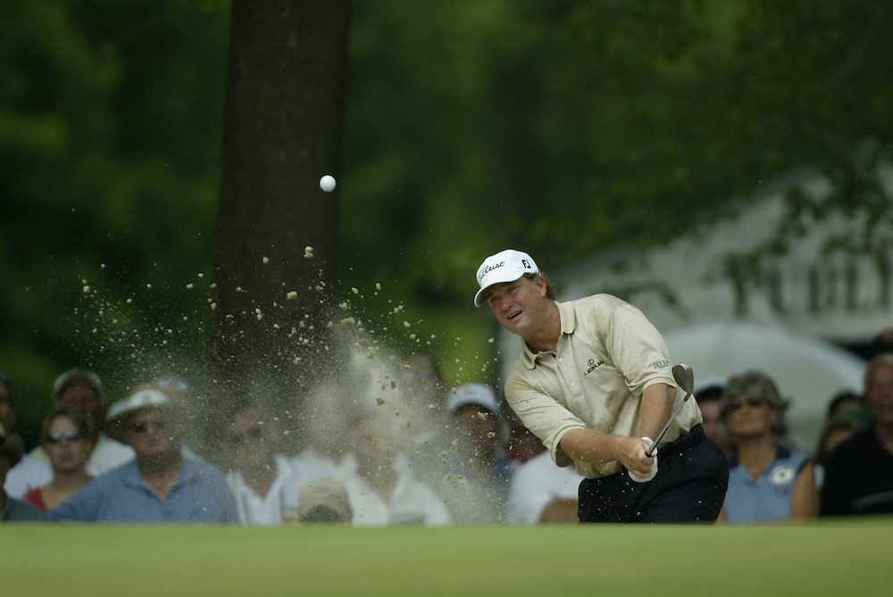 Peter Jacobsen..2004 United States Senior Open.Final Round.Bellerive Country Club.St. Louis MO.Sunday, August 1 2004..photograph by Darren Carroll
