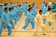 New Zealand starts the global relay celebrating World Tai Chi & Qigong Day 2007 which commences at 10am local time worldwide, Tamaki Community Centre, Glen Innes, Auckland, New Zealand on Saturday 28 April 2007.  Photo: David Rowland/PHOTOSPORT