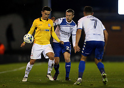 Zach Clough of Bolton Wanderers controls the ball - Mandatory by-line: Robbie Stephenson/JMP - 24/10/2016 - FOOTBALL - Gigg Lane - Bury, England - Bury v Bolton Wanderers - Sky Bet League One