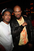 l to r: Johnny Nunez and Common at the Afterparty for Common's Concert wth Maxwell at Madison Square Garden hosted by Common and held at Marquee on September 29, 2009 in New York City