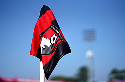 An AFC Bournemouth corner flag ahead of the Premier League match at the Vitality Stadium, Bournemouth.
