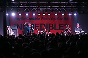 Joywave performs at Anthology on East Avenue in Rochester on Saturday, October 10, 2015. From left to right, bassist Sean Donnelly, vocalist Daniel Armbruster, drummer Paul Brenner, guitarist Joseph Morinelli, and keyboardist Benjamin Bailey.