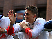 Max Whitlock during the Manchester Olympic Parade in Manchester, United Kingdom on 17 October 2016. Photo by Richard Holmes.