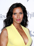 Padma Lakshmi attends the 2015 NBCUniversal Cable Entertainment Upfront at the Javitz Center North Hall in New York City, New York on May 14, 2015.