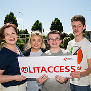 24.05.2017      <br /> LIT GO4IT and GIVE Volunteer Awards. Pictured at the event were, Noelle Clancy, Jade Foynes, Luke Hogan and Jamie Griffin. Picture: Alan Place.