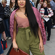 Taz Khan is a designer attend Fashion Scout - SS19 - London Fashion Week - Day 2, London, UK. 15 September 2018.