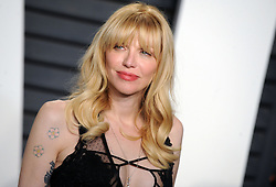 Courtney Love arrives at the 2016 Vanity Fair Oscar Party Hosted By Graydon Carter at Wallis Annenberg Center for the Performing Arts on February 28, 2016 in Beverly Hills, California. EXPA Pictures © 2016, PhotoCredit: EXPA/ Photoshot/ Dennis Van Tine<br />