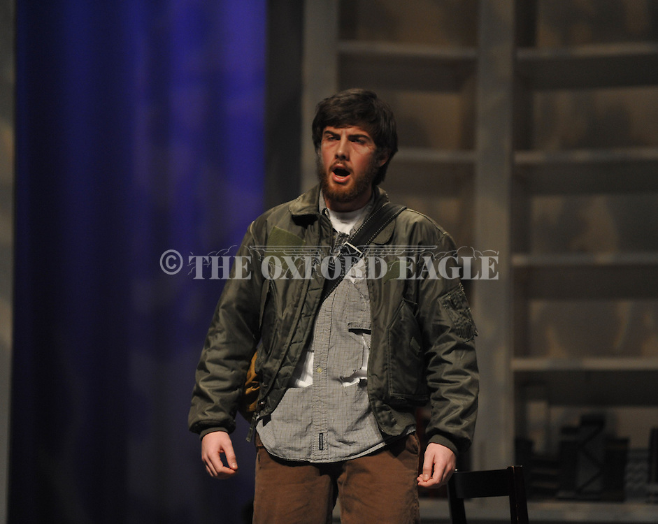 Oxford High students rehearse for Into The Woods in Oxford, Miss. on Tuesday, February 5, 2013.