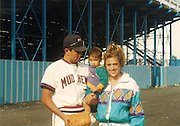 Baby Marco with his parents.