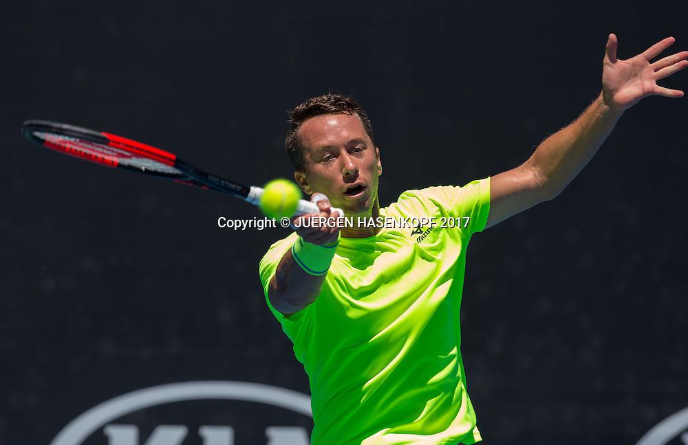 PHILIPP KOHLSCHREIBER (GER)<br /> <br /> Australian Open 2017 -  Melbourne  Park - Melbourne - Victoria - Australia  - 19/01/2017.