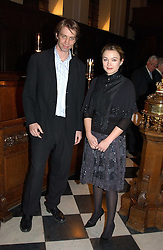 GILES MARTIN son of Sir George Martin and actress SOPHIA MYLES at a carol concert in aid of the Institute of Cancer Research at the Royal Hospital Chapel, Chelsea on 2nd December 2004.<br />