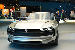 October 2, 2018 - Paris, France - Peugeot displayed  its new car and new technologies at  during the Paris Motor Show at Parc des Expositions Porte de Versailles on October 2, 2018 in Paris, France  (Credit Image: © Daniel Pier/NurPhoto/ZUMA Press)