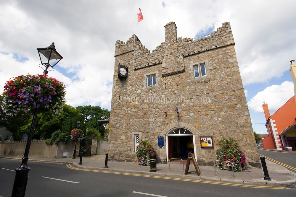 Dalkey Castle & Heritage Centre fifteenth century medieval Town House in Dalkey Village Dublin Ireland
