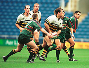 Zurich Premiership Rugby - London Irish v Wasps. Fraser Waters, during the game at the Madejski Stadium, Reading, Berks, Great Britain. [Mandatory Credit: Peter Spurrier; Intersport Images].