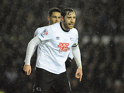 Richard Keogh Derby County, Derby County v Chelsea, Capital One Cup Quarter Final, Score Derby 1(Bryson),  Chelsea 3 (Hazard, Luis, Schurrle) Pride Park Tuesday 16th December 2014