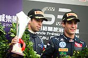 November 16-20, 2016: Macau Grand Prix. 29 António FELIX DA COSTA, Carlin, 27 Sérgio Sette CÂMARA, Carlin