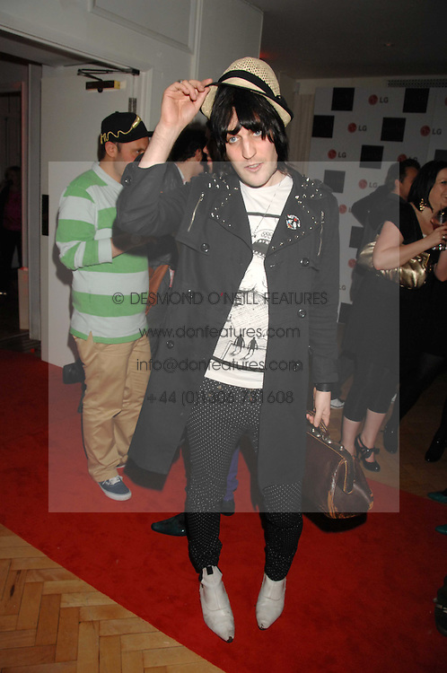 NOEL FIELDING at the Scarlet TV Launch Party -  a new series of flat panel LCD televisons from LG electronics held at the refurbished church, 1 Marylebone, London on 30th April 2008.<br />