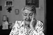 100th birthday of Mrs. Witzel in Oberursel around 1992.